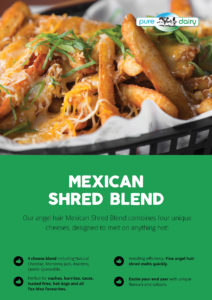 Mexican Shredded Blended Cheese